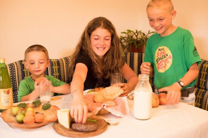 Bauernhofurlaub mit Frühstück auf dem Gfinkerhof