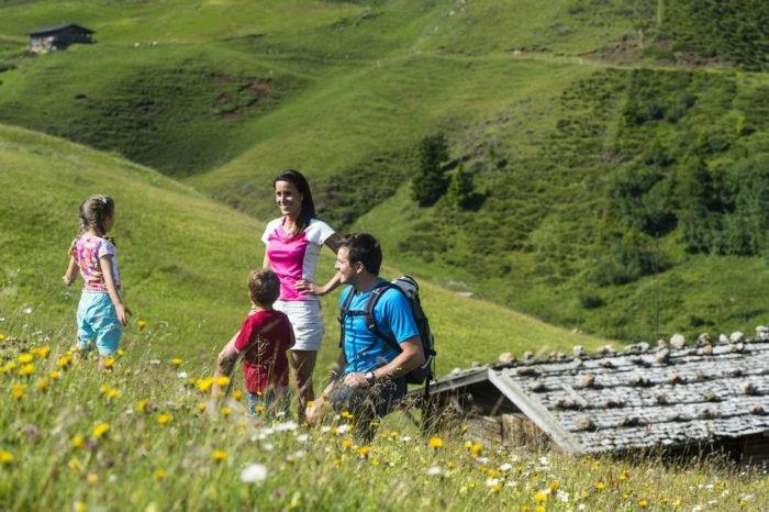Wanderferien mit Kindern