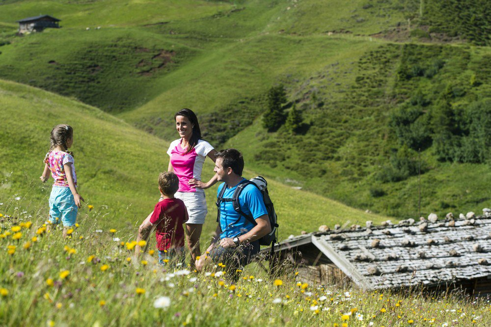 Hiking holidays with children