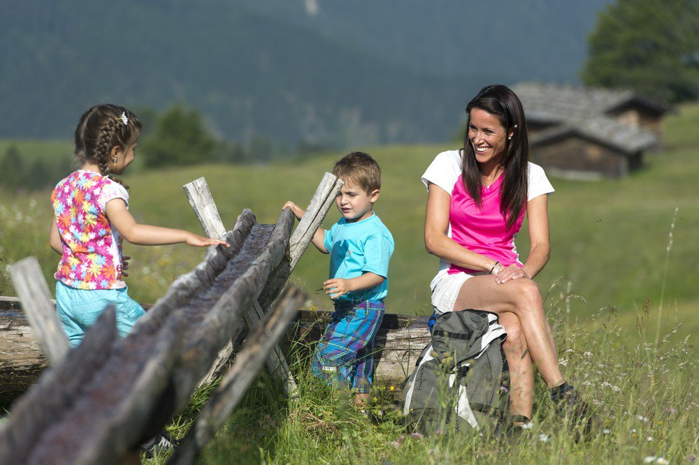 Wanderurlaub mit Kindern in Völs am Schlern